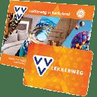 VVV Lekkerweg kaart plus omslag