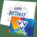 VVV Cadeaukaart happy birthday to you
