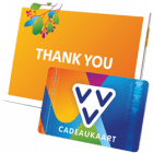 VVV Cadeaukaart thank you