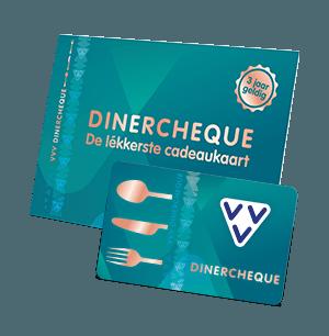 VVV Cadeaukaarten - Producten - Koop de VVV Dinercheque, dé lékkerste cadeaukaart