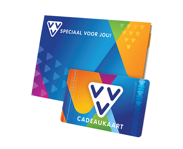 VVV Cadeaukaarten - Beeldbank - VVV Cadeaukaart
