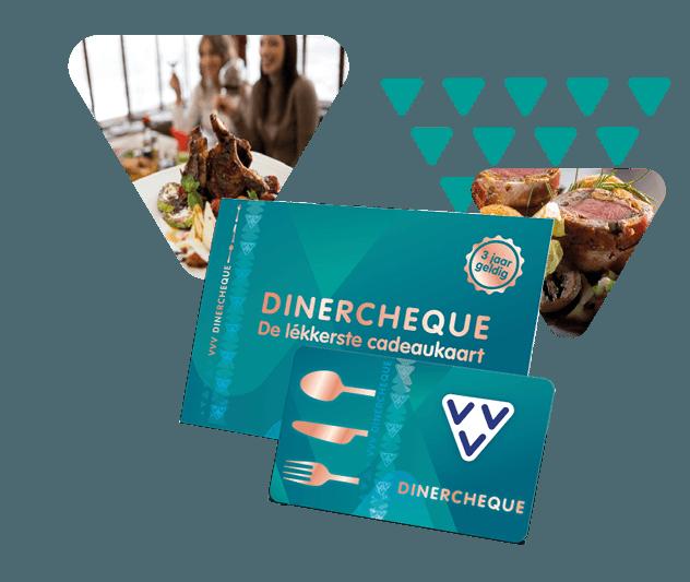 Koop een VVV Dinercheque en je geeft de lékkerste cadeaukaart van Nederland