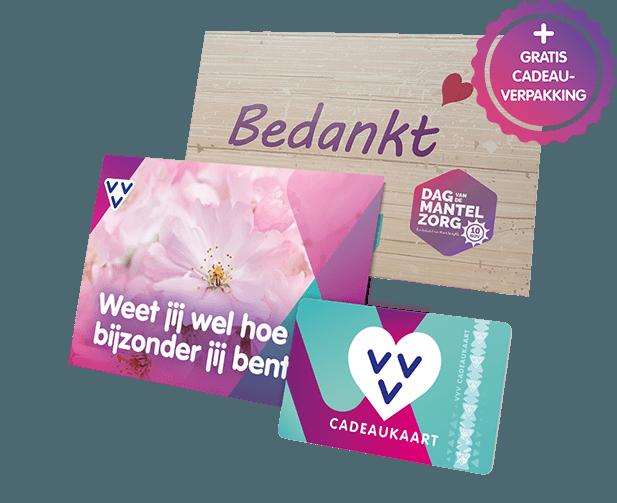 VVV Cadeaukaarten - Zakelijk - Dag van de Mantelzorg
