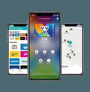 VVV Cadeaukaarten - App - VVV Cadeaukaart Dappre app