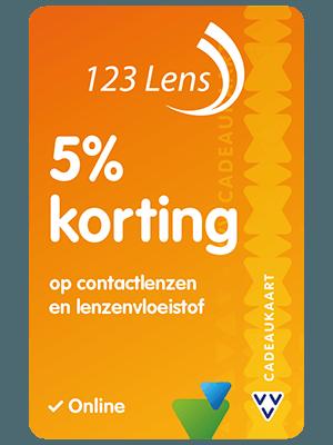 VVV Cadeaukaarten - Acties - Verrassend Veel Voordeel - 123 Lens