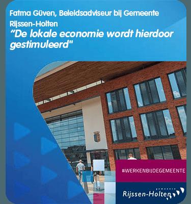 VVV Cadeaukaarten - Zakelijk - Testimonial Gemeente Rijssen-Holten