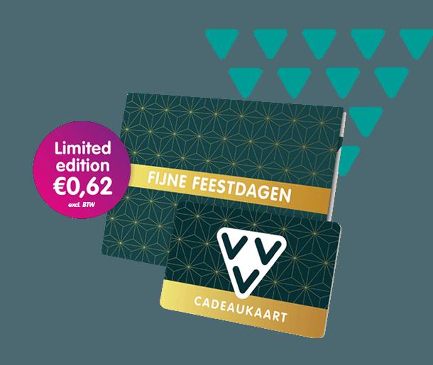 VVV Cadeaukaarten - Zakelijk - Koop de VVV Cadeaukaart als limited kerstcadeau edition