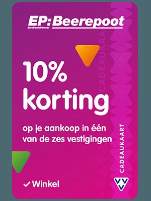 VVV Cadeaukaarten - Acties - Verrassend Veel Voordeel - EP: Beerepoot