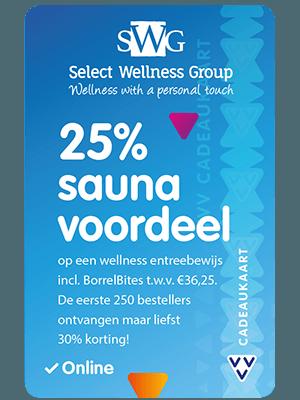 VVV Cadeaukaarten - Acties - Verrassend Veel Voordeel - Select Wellness Group