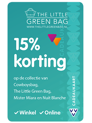 VVV Cadeaukaarten - Acties - Verrassend Veel Voordeel - The Little Green Bag