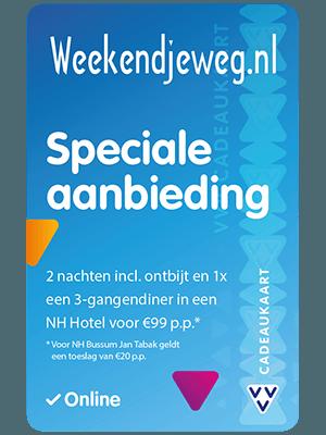 VVV Cadeaukaarten - Acties - Verrassend Veel Voordeel - Weekendjeweg