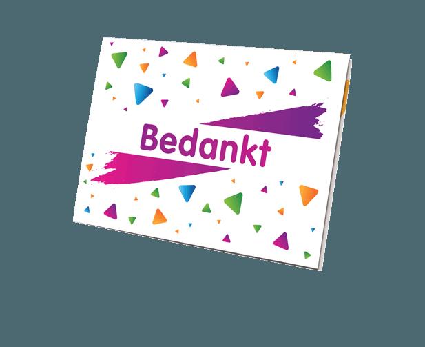VVV Cadeaukaarten - Cadeaumomenten - Bedankje