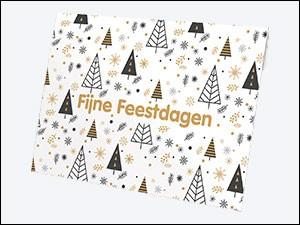 VVV Cadeaukaarten - Verpakkingen - Kerst mapje bomen