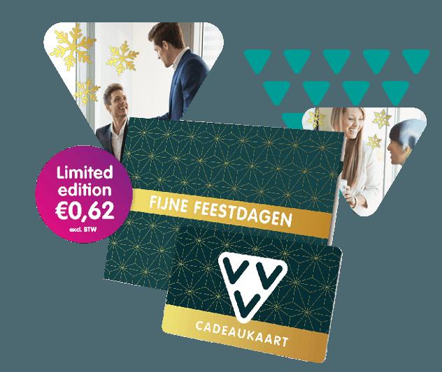 VVV Cadeaukaarten - Zakelijk - VVV Cadeaukaart verkrijgbaar in een speciale kersteditie