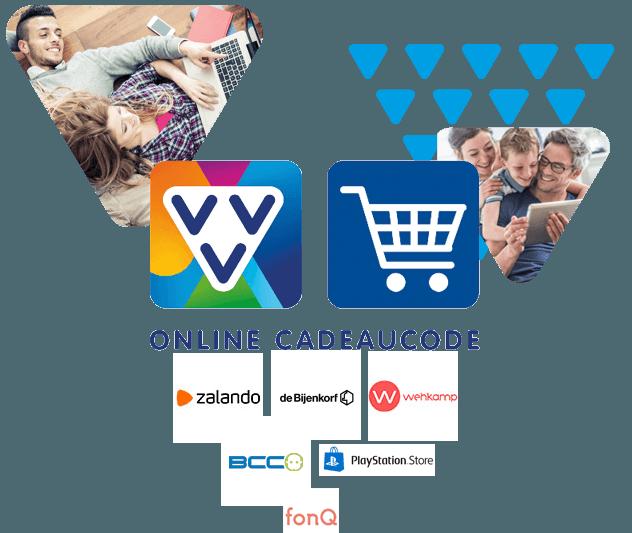 Op zoek naar het ideale 'last minute' cadeau? De VVV Online Cadeaucode is dé nr. 1 digitale cadeaukaart met het grootste aanbod aan webshops.