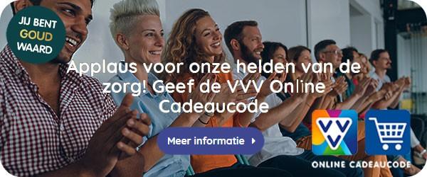 24/7 een cadeau binnen handbereik hebben? De VVV Online Cadeaucode is dé nr. 1 digitale cadeaukaart met het grootste aanbod aan webshops.