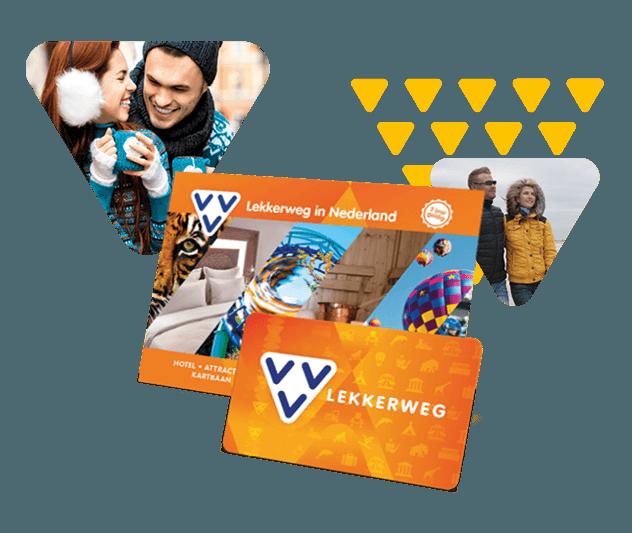 Met de VVV Lekkerweg geef je een echte beleving cadeau, van nachtje weg tot dagje weg.