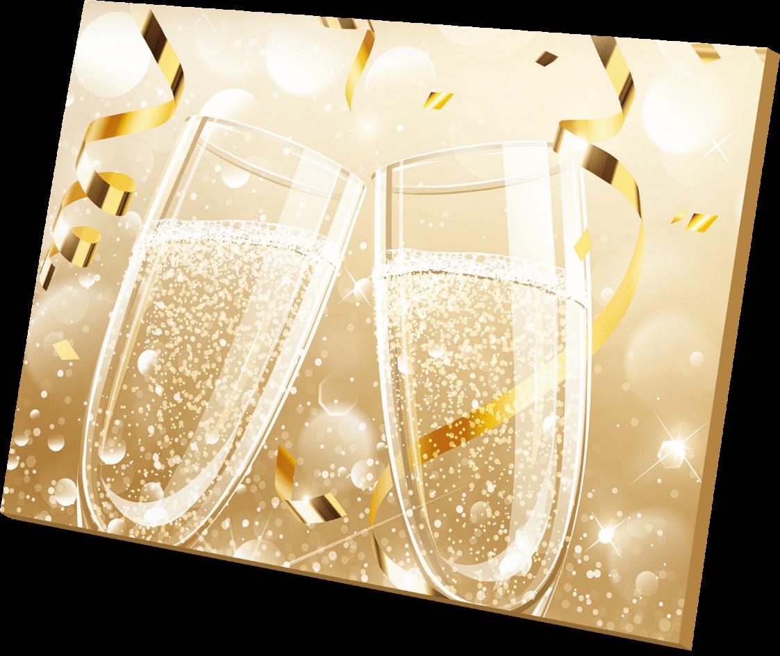 Champagne doosje