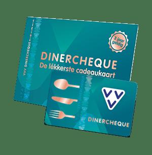 Meld je nu aan en word acceptant van de VVV Dinercheque