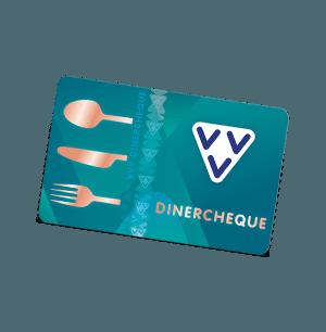 VVV Dinercheque schuin