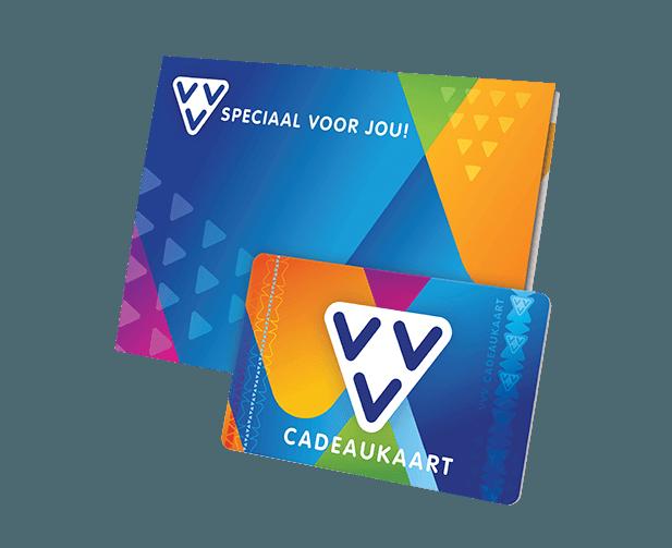 VVV Cadeaukaart kaart en omslag