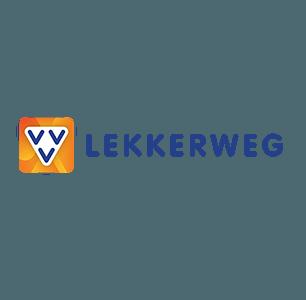 VVV Lekkerweg logo horizontaal