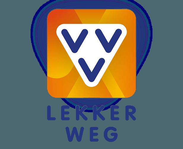 VVV Lekkerweg logo vierkant
