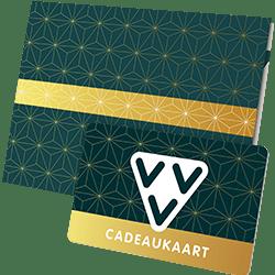 Geef de VVV Cadeaukaart als VVV Kerst Cadeaukaart goud