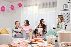 Feliciteer de ouders met hun pasgeboren kindje.