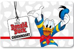 Wissel je VVV Cadeaukaart om voor een Donald Duck cadeaukaart, de vrolijkste cadeaukaart om te geven en te krijgen