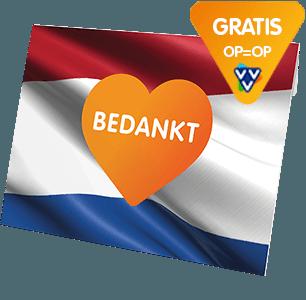 Dat kan al vanaf €10,-. Je krijgt er een uniek cadeaumapje bij en de cadeaukaarten worden gratis verzonden naar één adres in Nederland
