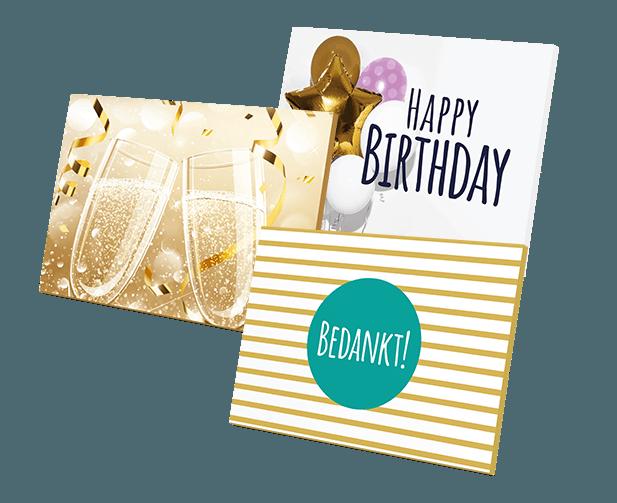 Geef een feestelijk cadeaudoosjes van VVV bij je cadeaukaart