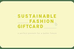 Wissel je VVV Cadeaukaart om voor een Sustainable Fashion Gift Card, de cadeaukaart voor duurzame mode