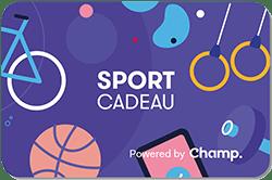 Besteed je VVV Cadeaukaart voor een Champ sportcadeau, het sportiefste cadeau voor iedereen