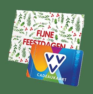 VVV Cadeaukaart met Kerst mapje