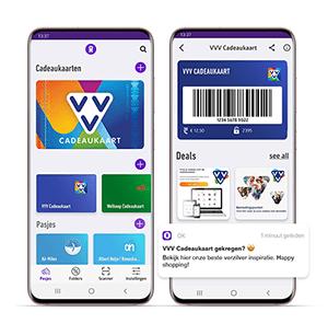 Voeg de VVV Cadeaukaart toe aan de OK-app