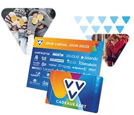 VVV Cadeaukaart, breed besteedbaar van winkel tot web