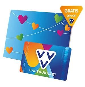 Nu GRATIS de VVV Cadeaukaart 'Lief' als valentijnscadeau