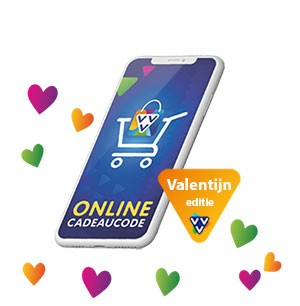 Geef als valentijnscadeau een VVV Onine Cadeaucode