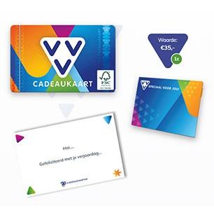 Maak je VVV Cadeaukaart persoonlijk met een kaartje