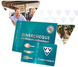 VVV Dinercheque, de lékkerste cadeaukaart