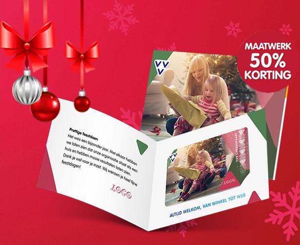 Je eigen VVV Cadeaukaart met 50% korting op maatwerk