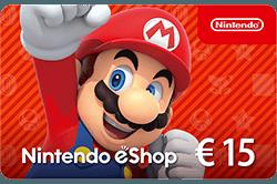 Wissel je VVV Cadeaukaart om voor een Nintendo eShop Cards, een kaart voor al je aankopen in de eShop