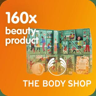 The body shop stelt 160 keer een beauty product ter beschikking voor het Prijzenfestival